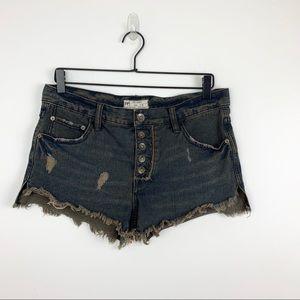 Free People Shorts - Free People | Runaway Cutoff Denim Shorts 26